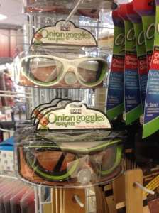 Who doesn't need Onion Goggles?