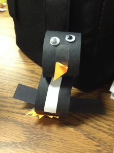 """Jolly the Penguin"", as named by my nephew."